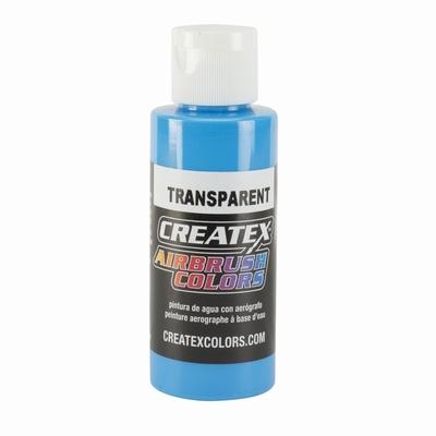 Createx transparant caribbean blue 60 ml.