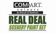 Com art Real deal scenery paint set
