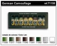 Vallejo Duitse camouflage kleuren