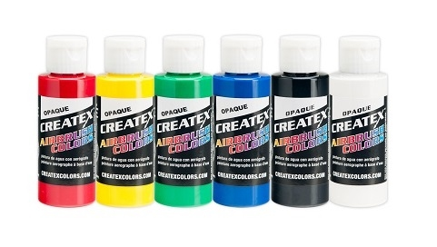 Createx losse kleuren